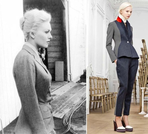 Kim Novak in Vergito, 1958 | Dior Pre-Fall 2014