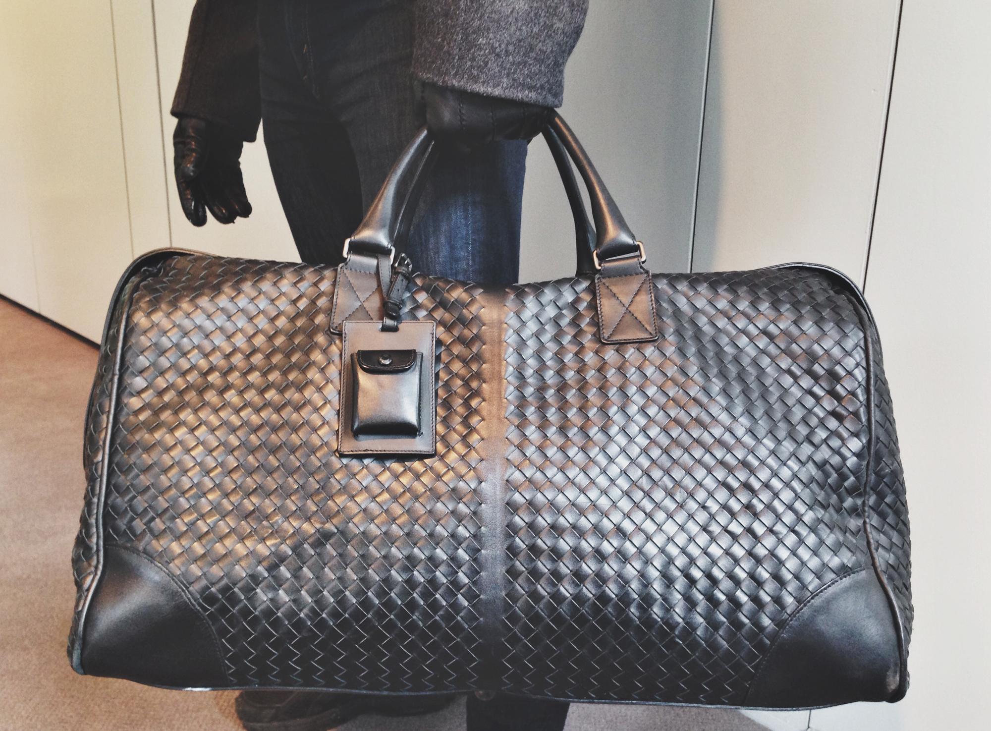 9b078fe2a250 Bottega Veneta Duffle Bag – Visual Therapy
