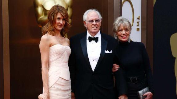 Laura Dern with parents
