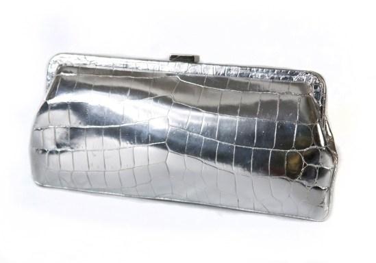 Cape Cobra Silver Clutch | Modern Vintage on ShopVT