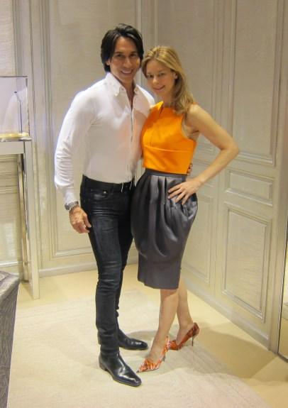 Jesse and Melinda Knight at Dior
