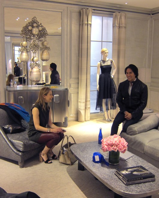 We bring our clients to the Dior VIP Room