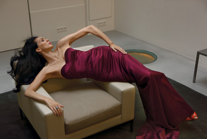 L'Wren Scott by Annie Leibovitz | Visual Therapy