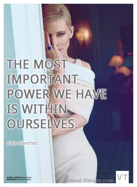 cate blanchett quote