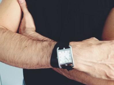 Hermès Watch, American Apparel T-Shirt