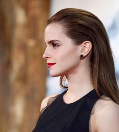 Emma Watson in Wes Gordon at Noah Premiere in Berlin