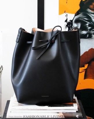 Mansur Gavriel Bucket Bag via Le Fashion