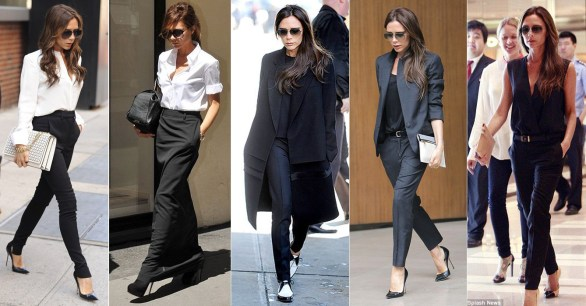 Victoria Beckham Minimalist Style Visual Therapy