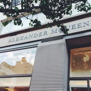 Alexander McQueen pre-fall 2014