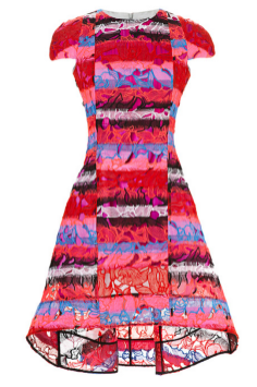 Peter Pilotto Leia Printed Lace Dress
