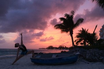 Sasha Nelson's yoga retreat in Barbados