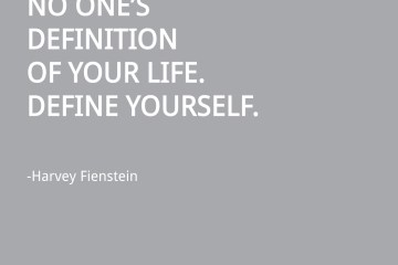 Harvey FienStein Quote