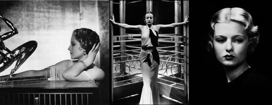 Norma Shearer, Joan Crawford and Joan Bennett by George Hurrell