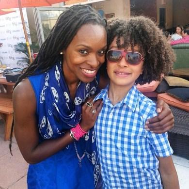 Latham with son Fulano