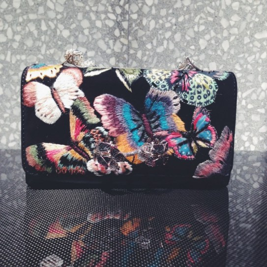 Valentino FW 2014/2015 Butterfly Clutch