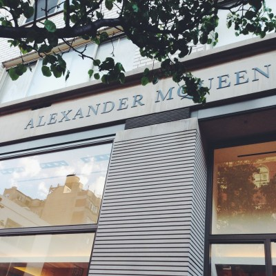 Alexander McQueen Boutique NYC