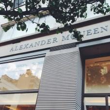 Alexander McQueen Boutique NYC