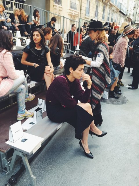 Chanel Spring 2015 Guests