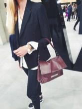 Zara leather leggings