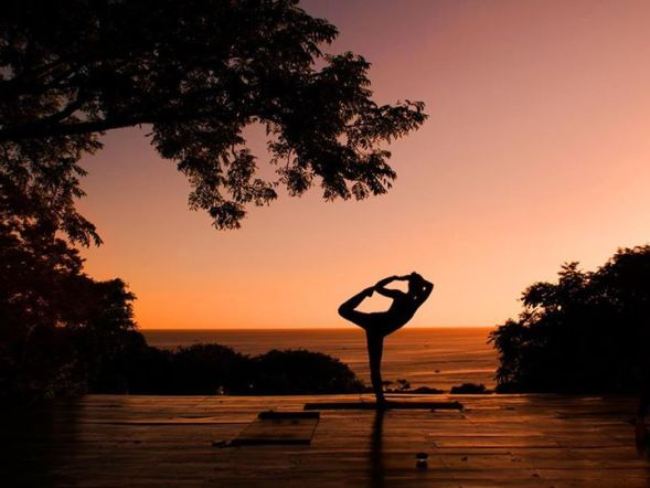 Ksenia's Sunset Yoga at Buena Vista Surf Club