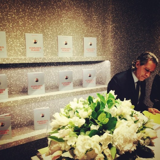 #Carlos's Places launch at Valentino SF