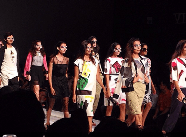 Sanchita show at The Milan Fashion Week Week #WLIFW