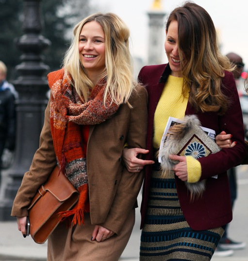 Street style fashion friends