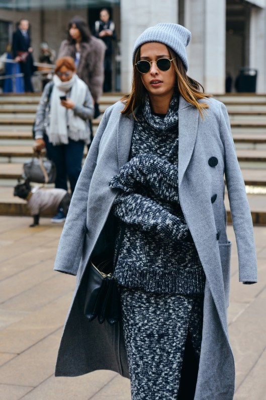 Eleanor Pendleton NYFW street style