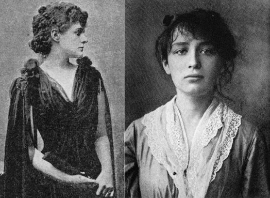 Maud Gonne  and Camille Claudel