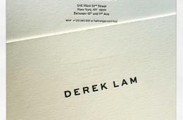 Derek Lam NYFW Invite
