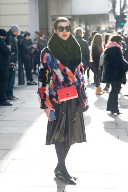 Street Style - London Collections: WOMEN AW15 - February 20 To February 24, 2015
