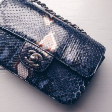 Chanel Snakeskin Bag