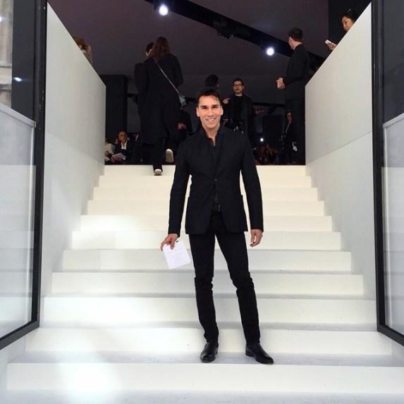 Jesse Garza at Dior