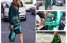 Green street style dello russo
