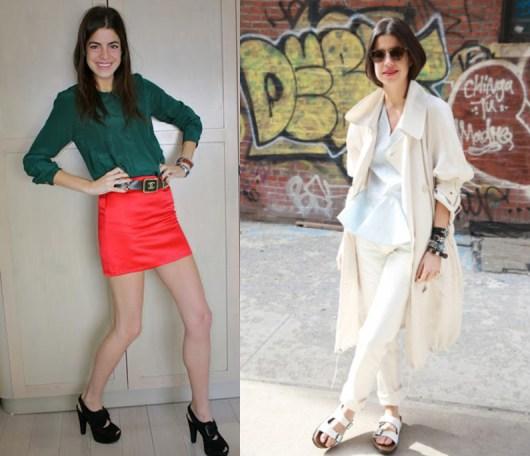 Leandra Medine style transformation
