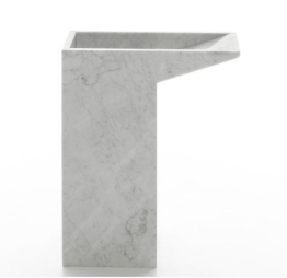 """This cararra marble umbrella stand """"Lello"""" by M. Casadei is super sexy"""