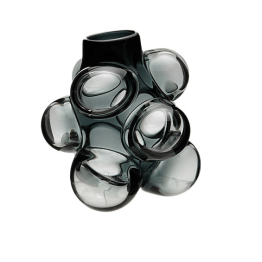 This Caleb Simon Cumulo vase is a very sculptural design and is perfect for the avant garde home