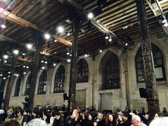 Ann Demeulemeester Paris Fashion Week Gothic Chapel