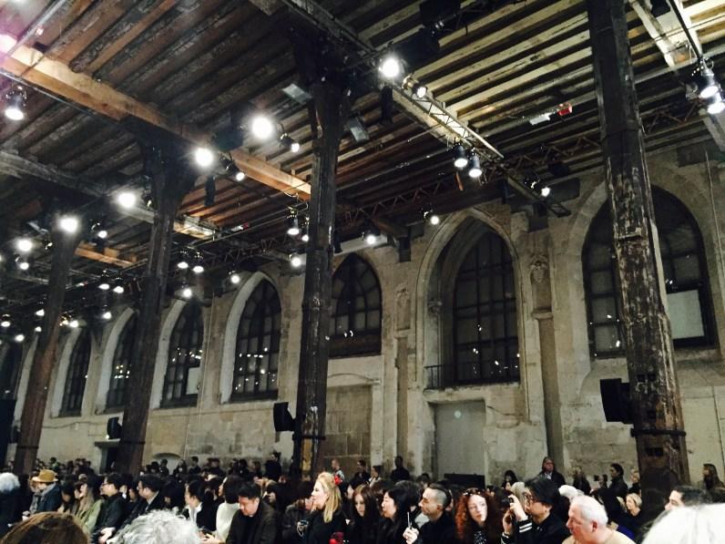 Ann Demeulemeester Paris Fashion Week Gothic Chapel