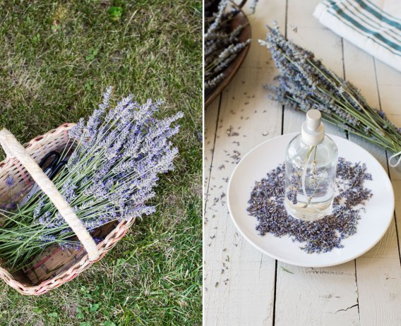lavender diy linen spray