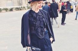 Lisa Marie McComb fashion stylist | Paris Fashion Week Street Style Fall 2015