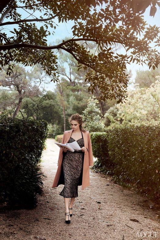 Image: Cara Delevigne by Peter Lindbergh for Vogue