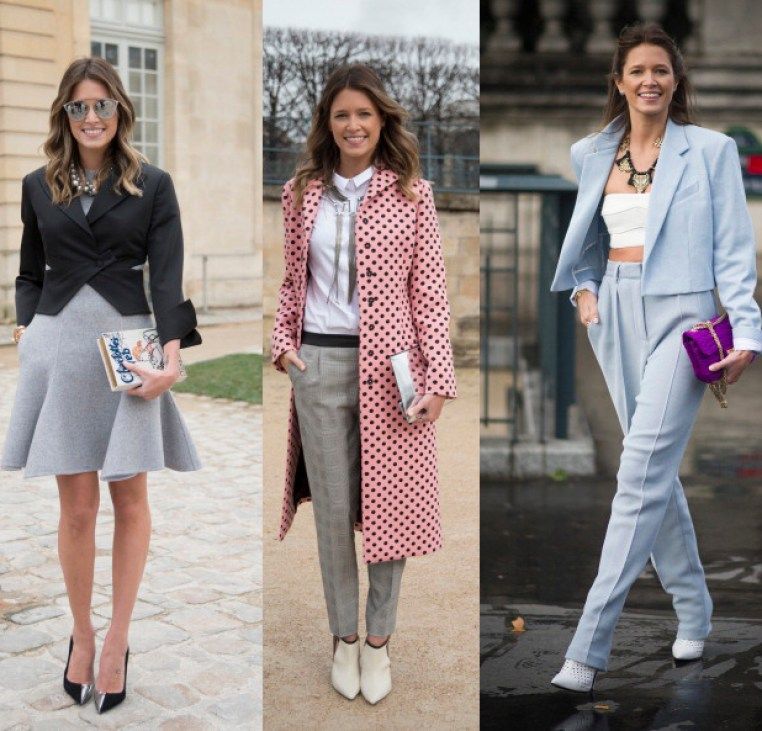 Street Style - Day 4 : Paris Fashion Week - Womenswear Fall/Winter 2014-2015