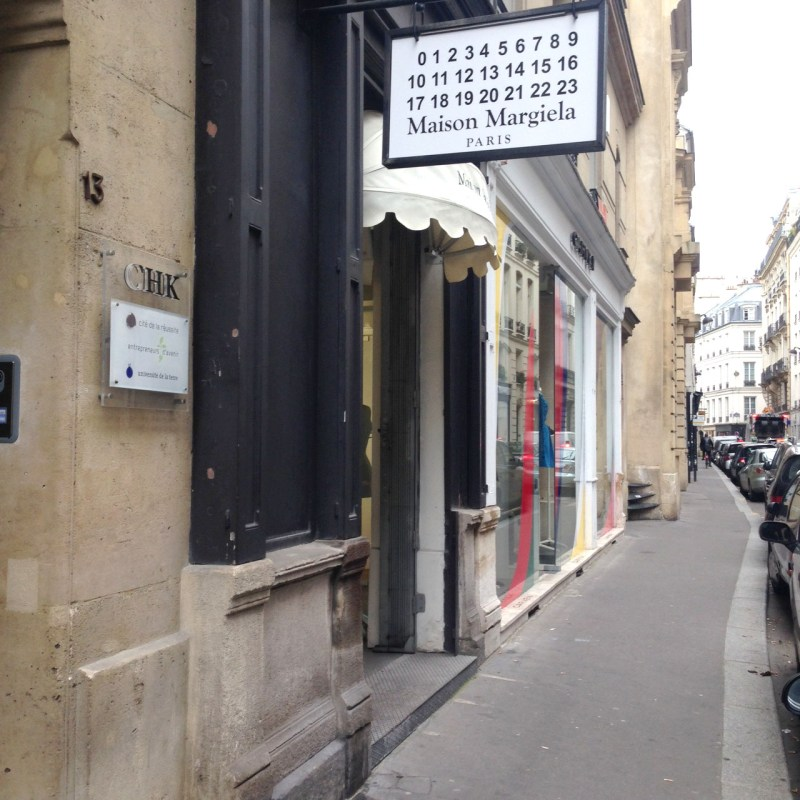 Paris shopping diary   Margiela