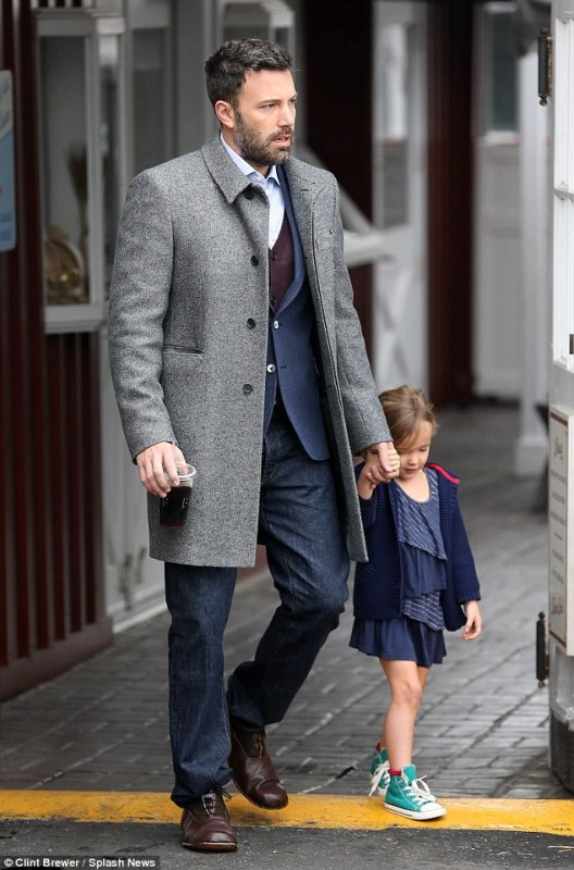 Ben affleck with daughter