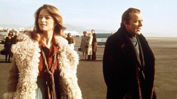 charlotte rampling richard burton shearling 1970s boho young fashion style