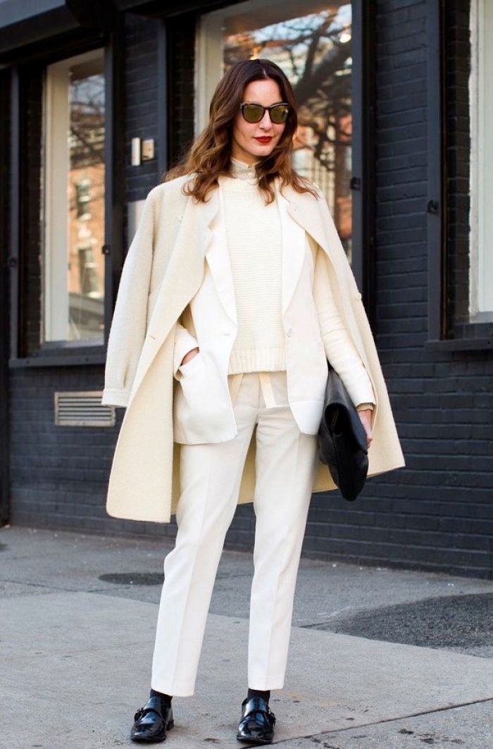 How to Wear Whites for Fall