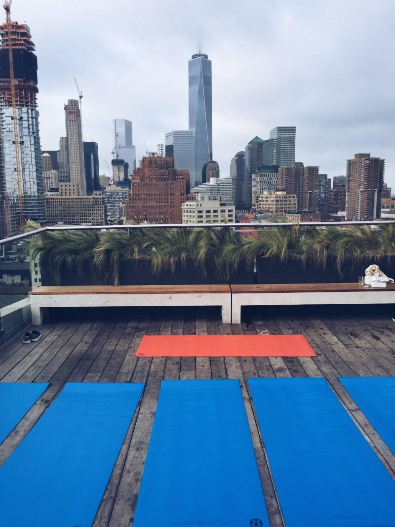 Serene Social Rooftop Yoga