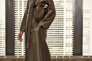 Obsessed: The Row Leather Trench