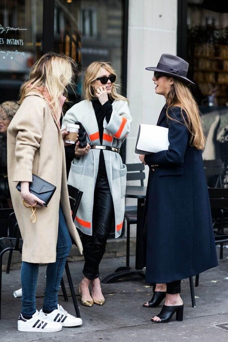 coats street style